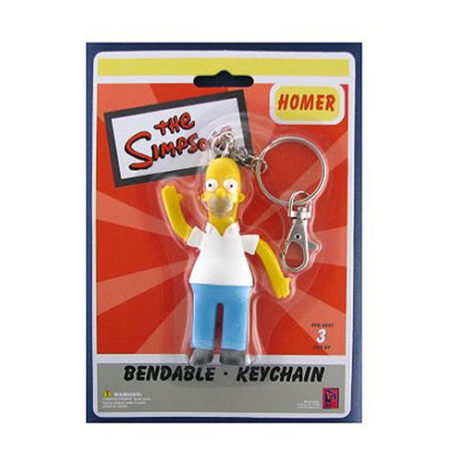 The Simpsons: Homer Bendy Keychain
