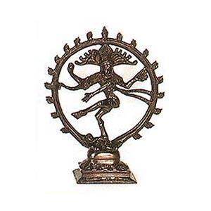 Shiva Nataraj 4 Inch Bronze Statue