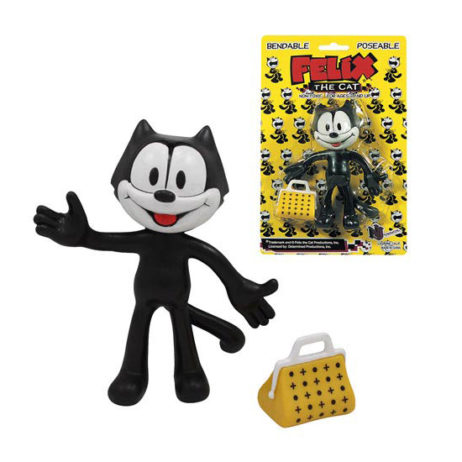 "Felix The Cat 5"" Bendable Figure"