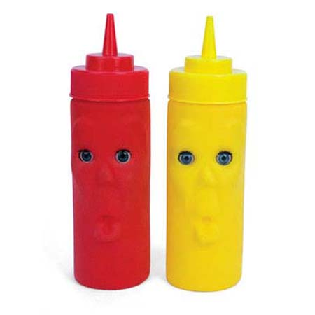 Blink Ketchup & Mustard Bottle