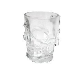 Skull Stein Glass Beer Stein