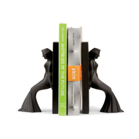 Leaning Ladies Bookends