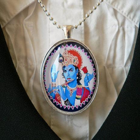 Michael Jackson Krishna Pendant