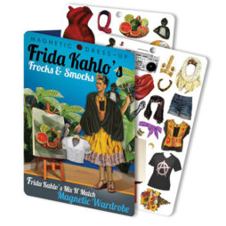 Frida Kahlo'S Frocks & Smocks Magnetic Dress Up Doll