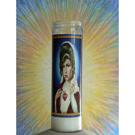 Saint Winehouse Candle