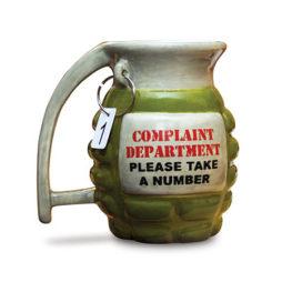 Grenade Mug - Take A Number