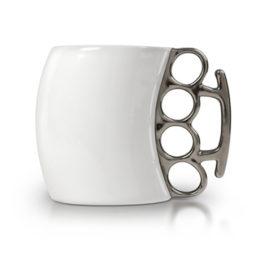 Fisticup Brass Knuckles Mug