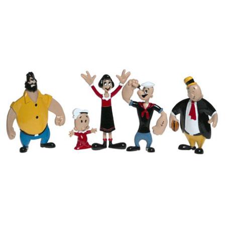 Popeye Retro Bendable Box Set