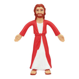 "Jesus Of Nazareth Bendable 5"""