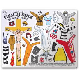 Final Justice Jesus Dress Up Magnet Set