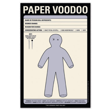 Paper Voodoo Notepad
