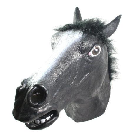 Horse Latex Mask