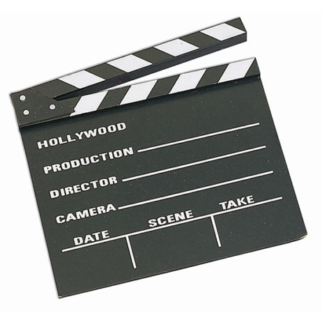 Movie Clapper Board 10X12