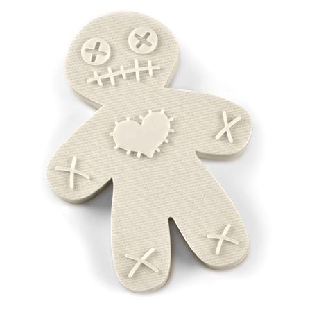 Cursed Voodoo Doll Cookie Cutter