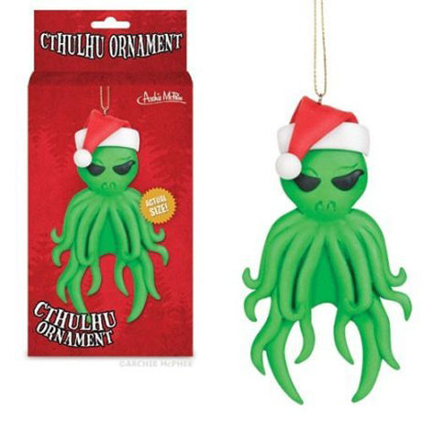 Cthulhu Xmas Ornament