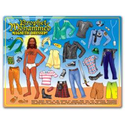 Prophet Mohammed Magnetic Dress Up