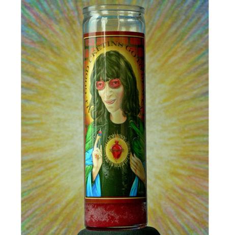 Saint Joey Ramone Candle