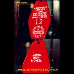 American Werewolf In London: Slaughtered Lamb Inn Pub & Inn Keychain
