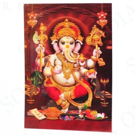 Ganesh Hologram Poster