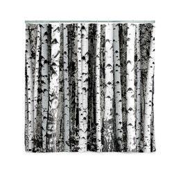 Birch Shower Curtain