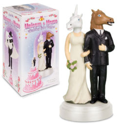 Unicorn & Horse Cake Topper