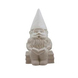 Gnome Matte Porcelain Lamp