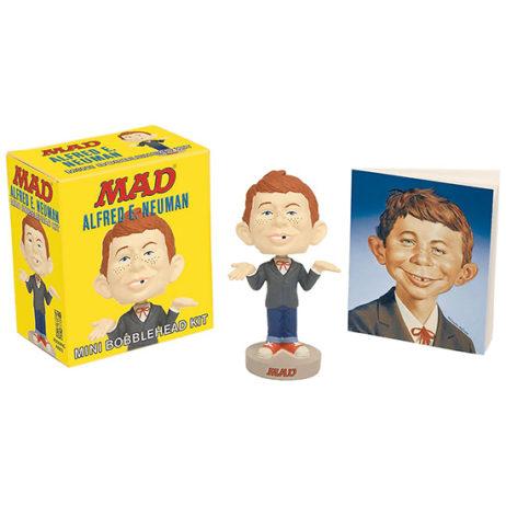 Mad Magazine: Alfred E. Neuman Bobblehead Kit