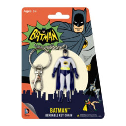 Batman Bendable Keychain ('60S Tv Show)