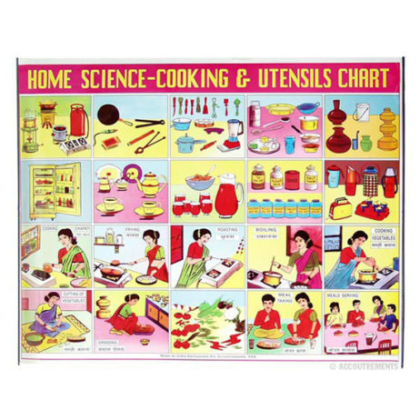 Indian Home Science Poster