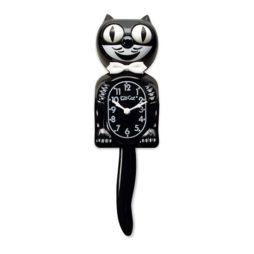 Classic Black Kit-Cat Clock