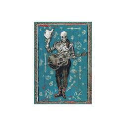 Cowboy Skeleton Magnet