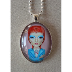 David Bowie Big Eye Pendant