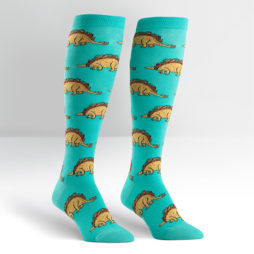 Tacosaurus Womens Knee Hi Socks