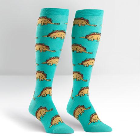 Tacosaurus Womens Knee Hi Socks