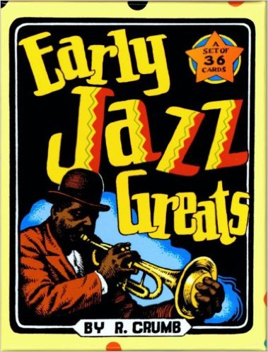 Early Jazz Greats - Boxed Trading Card Set By R. Crumb