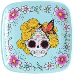 Sugar Skull Lady/Man Plate