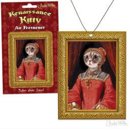 Renaissance Kitty Air Freshener Rose Scent