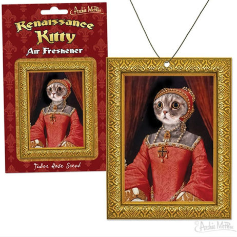 Renaissance Kitty Air Freshener Rose Scent