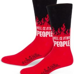 Hell is other people socks